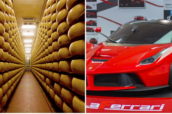 Food & Ferrari Tour