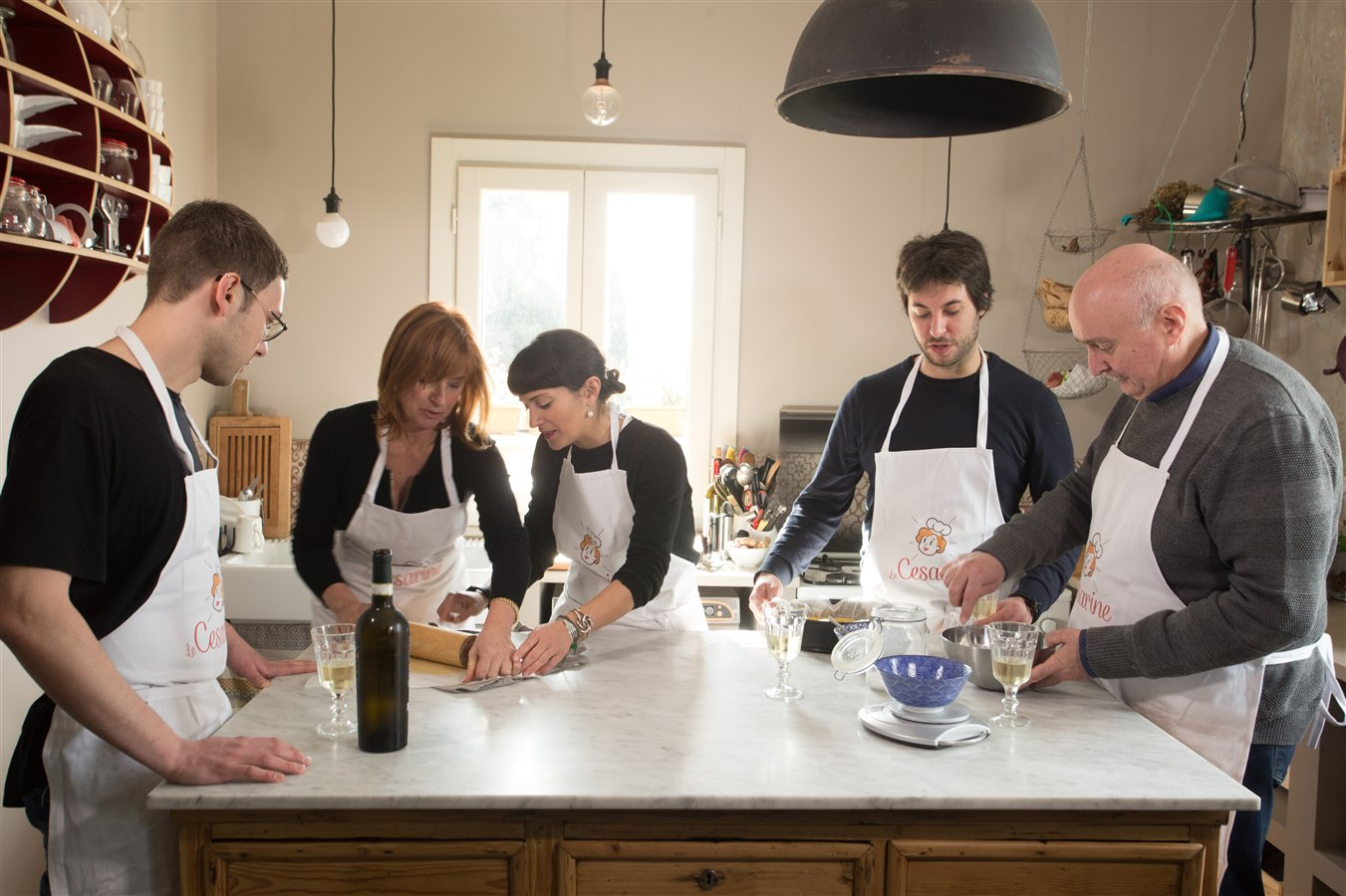 Private cooking class in Bologna 1