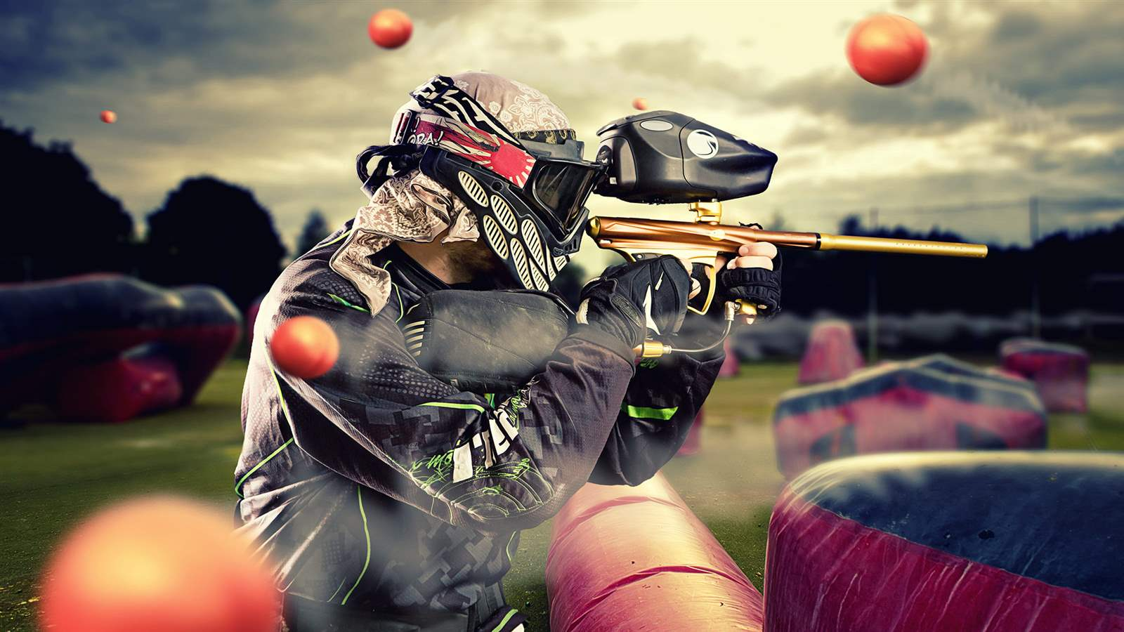 Paintball emilia romagna team building