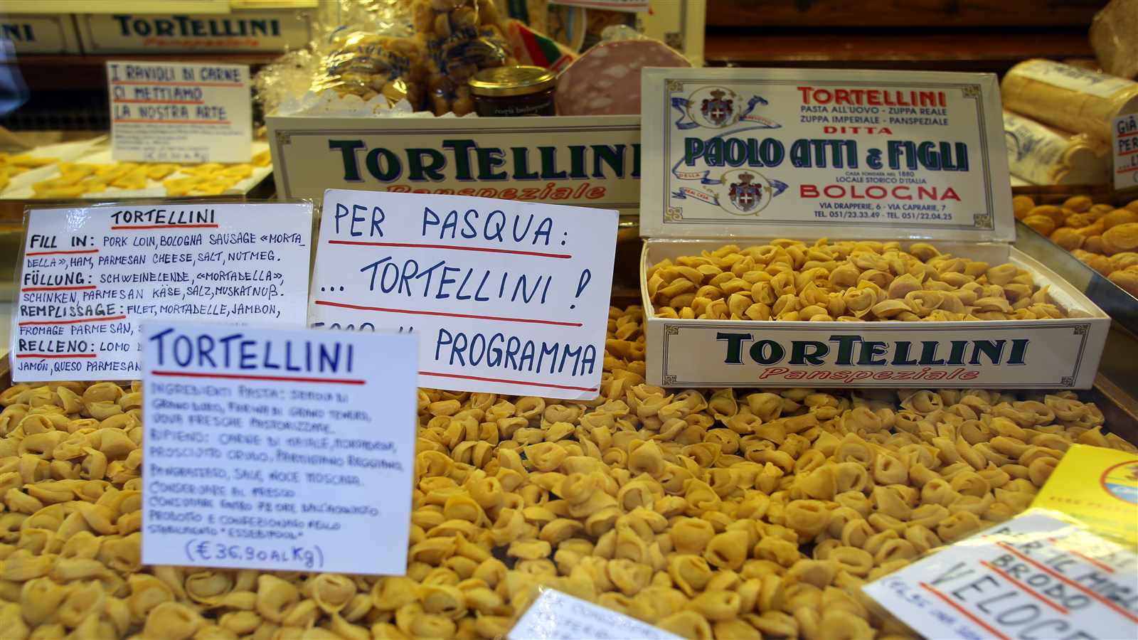 percentuale differenziata bologna food - photo#4